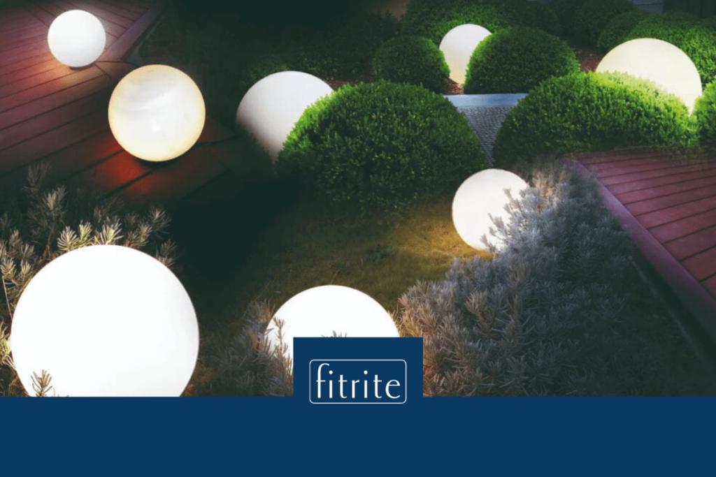 garden lighting system for decking installation